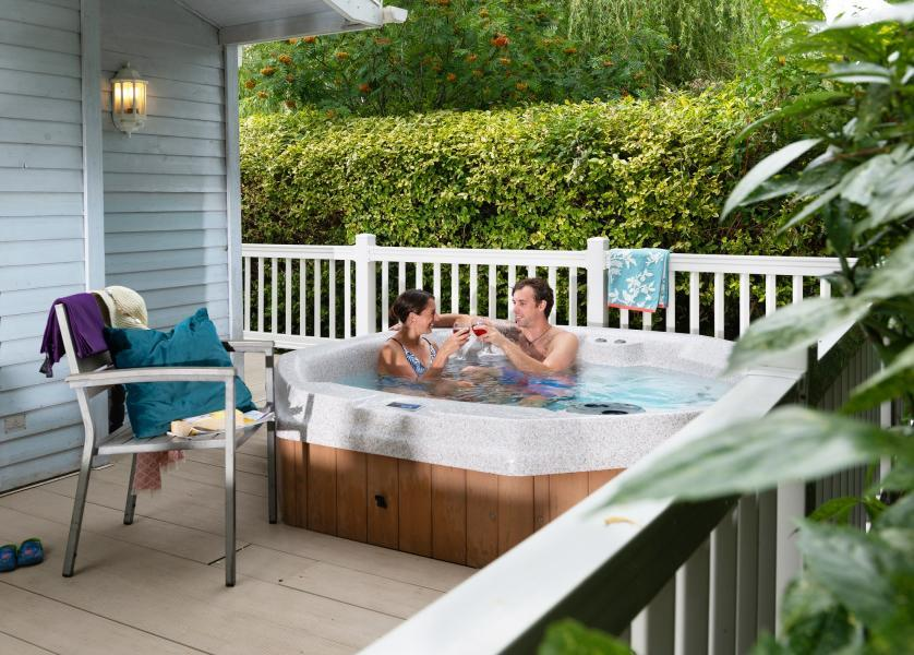 Hot tub retreats with Shorefield Holidays make the perfect place to unwind