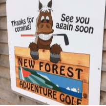 Lymington Golf Centre with New Forest Adventure Golf