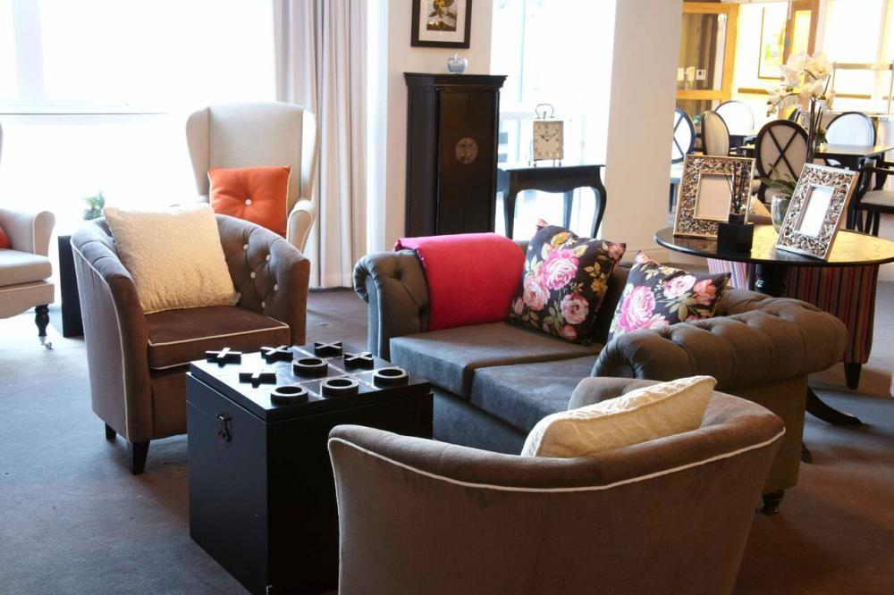 Gracewell of Sway sitting room