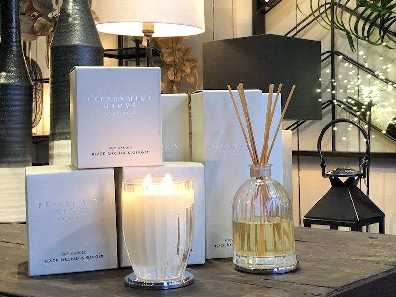 Candles and home gifts at Starboard Home Lymington