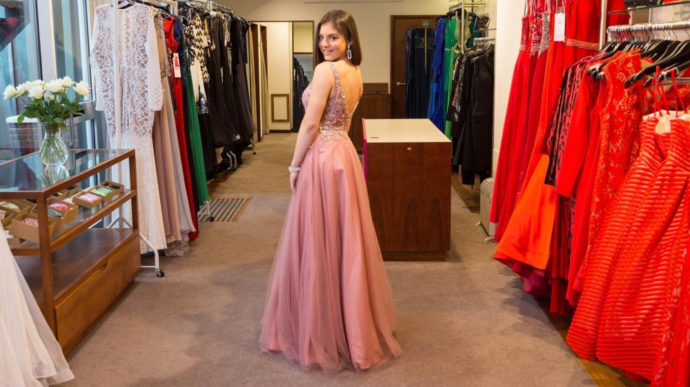 Evening, cruise and prom dresses at Belle Ella Lymington