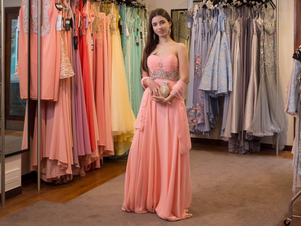 Prom dresses in every colour at Belle Ella boutique