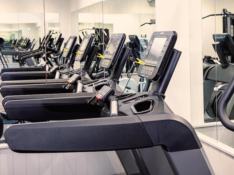 Fitness rooms at Balmer Lawn New Forest