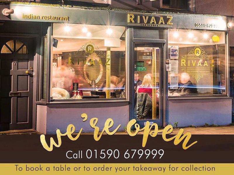 Rivaaz Indian Restaurant in Lymington