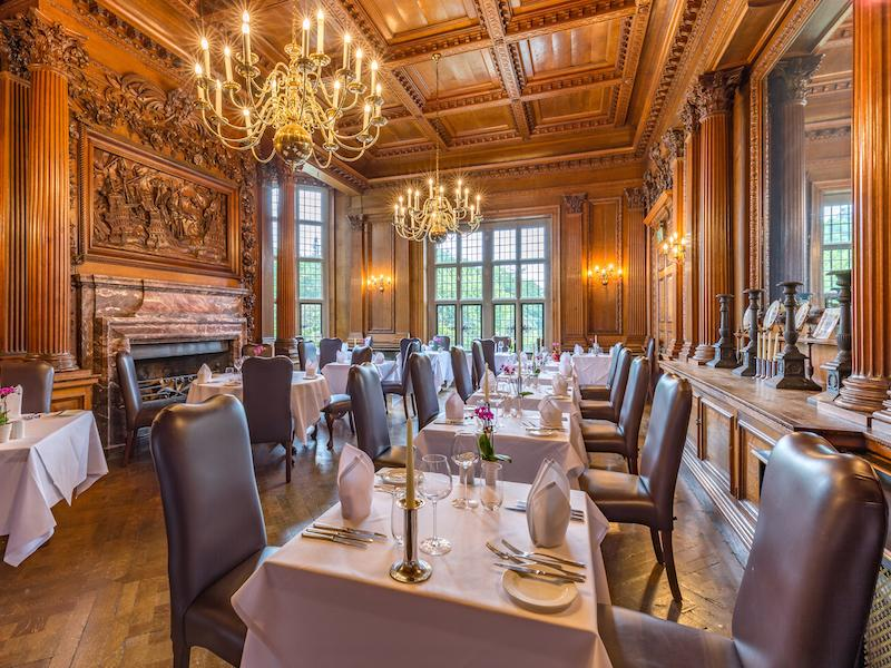 Armada Restaurant at  Rhinefield House Hotel New Forest