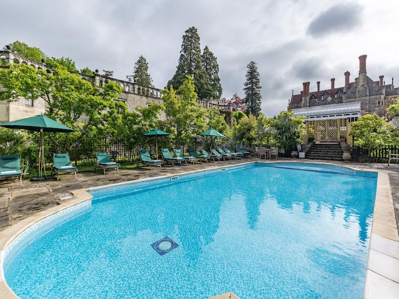 Outdoor Pool at Rhinefield House Hotel New Forest