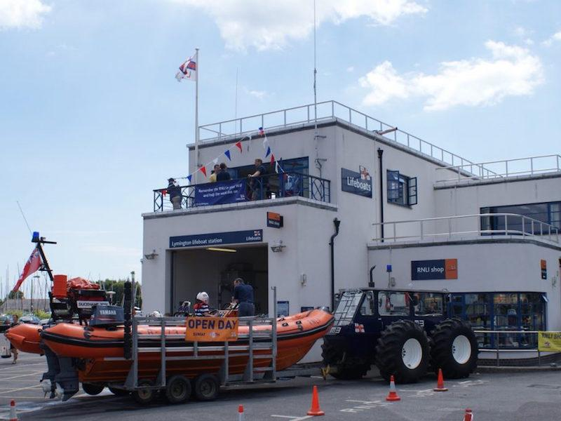 Lymington Lifeboat RNLI