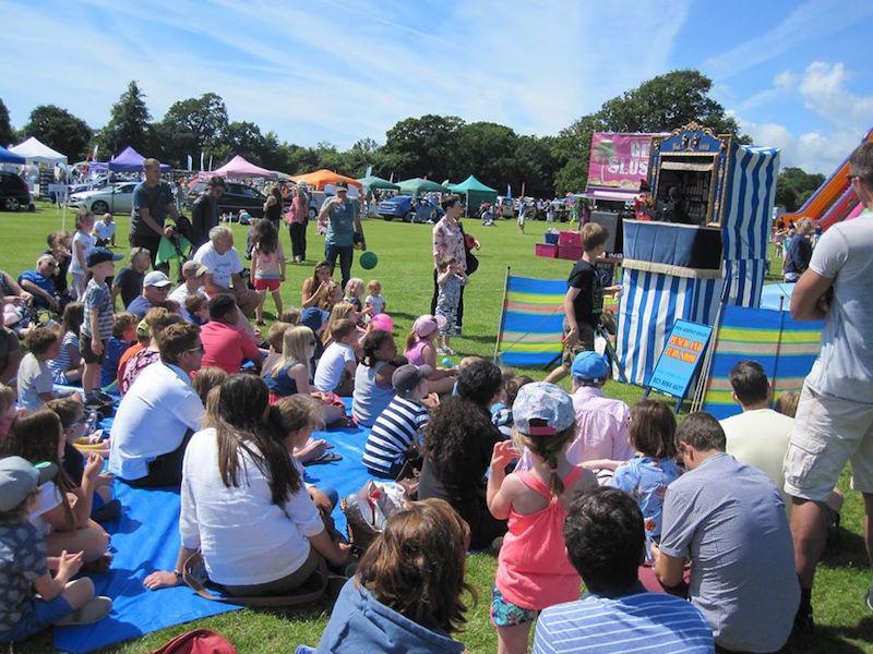 Summer Spectacular event in Lymington