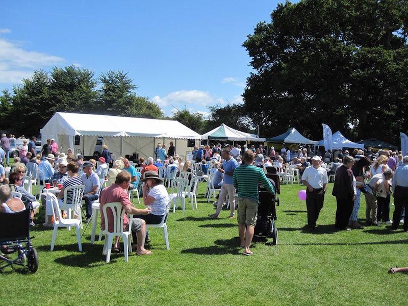 Spectacular community event in Lymington