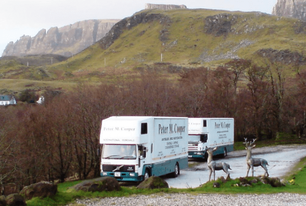 Peter Cooper Removals long distance moves