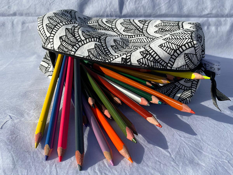 Use for pencils, crochet hooks or craft items