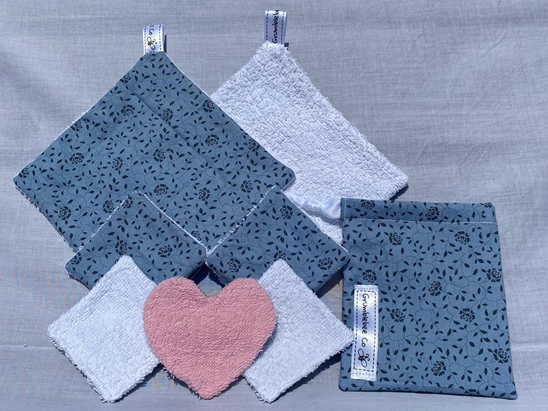 Replace single use cotton wool and make up wipes with these reusable pads