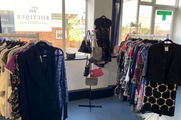 Tidal Boutique at Lymington Community Centre