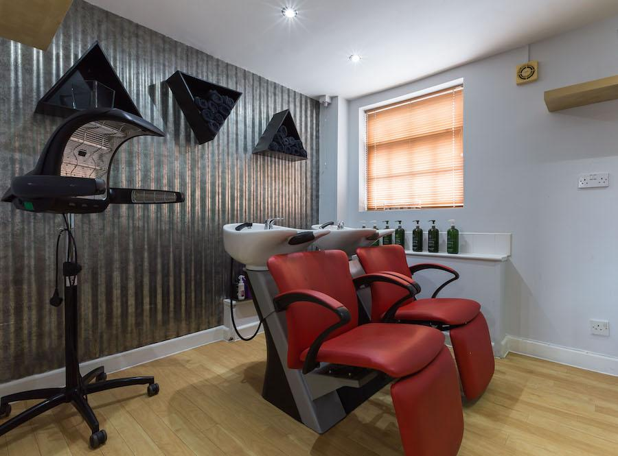 The wash house experience at No 11 The Salon