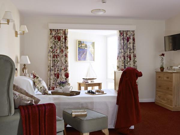 Bedroom at Linden House Lymington