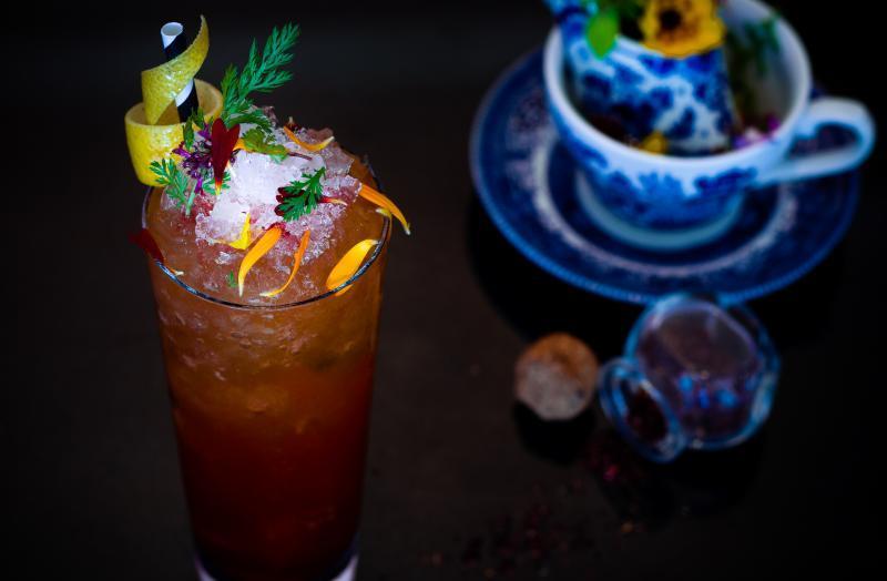 Cocktails at Chewton Glen