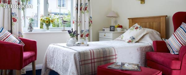 Colten Care Belmore Lodge well-appointed bedrooms with ensures