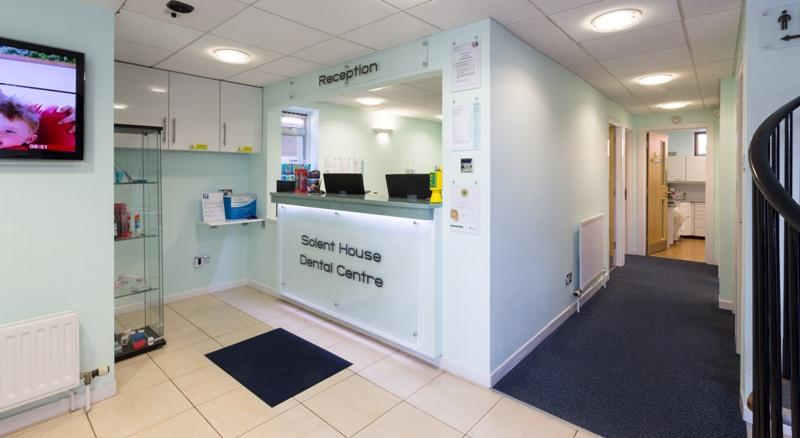 solent house dental centre lymington reception