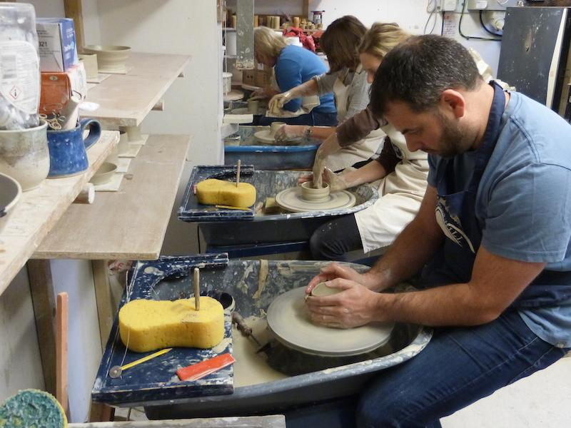 Vinegar Hill pottery courses with Master Potter Dave Rogers