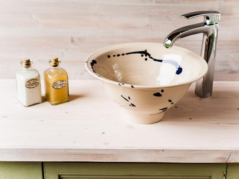 Basins by Dave Rogers at Vinegar Hill Pottery
