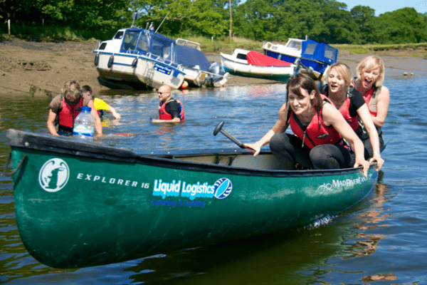 New Forest Activities canoeing  for families and childrens parties