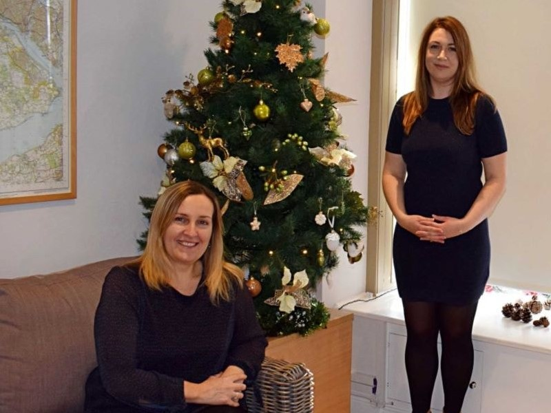Jane and Debbie manage New Forest Cottages