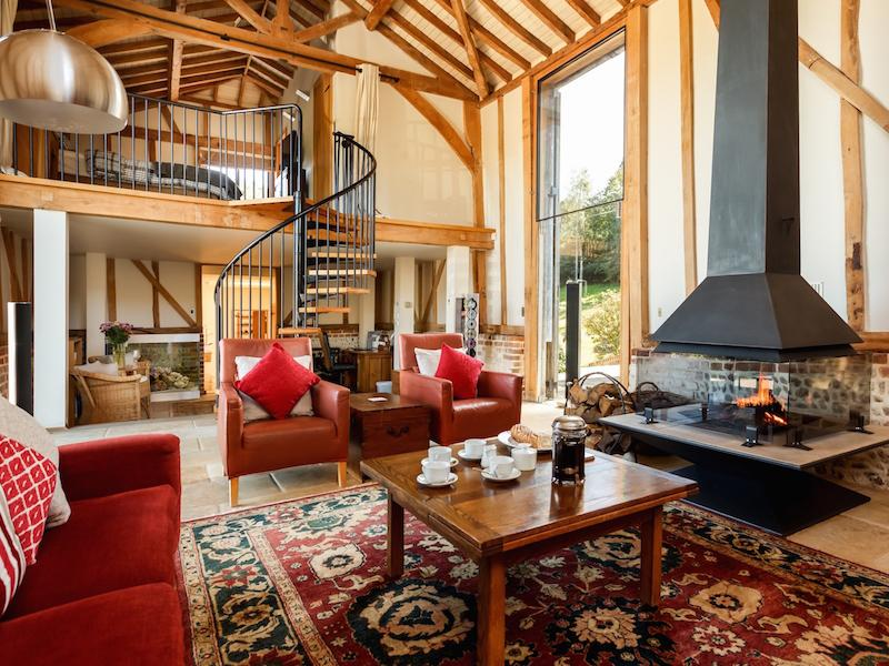 Cosy New Forest Cottages with fires
