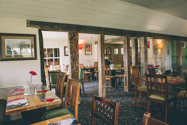 Restaurant at Royal Oak Downton