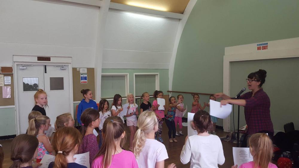 Singing and Musical Theatre at New Forest Academy of Dance