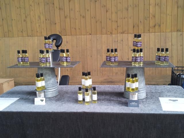 Massage House oil blends