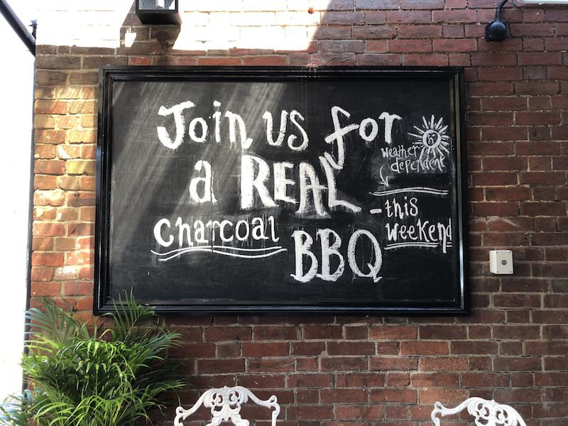 Real Barbecues this summer at the Bosun's Chair