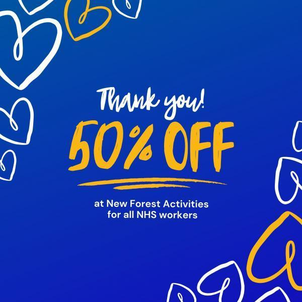 50% off for the NHS at New Forest Activities