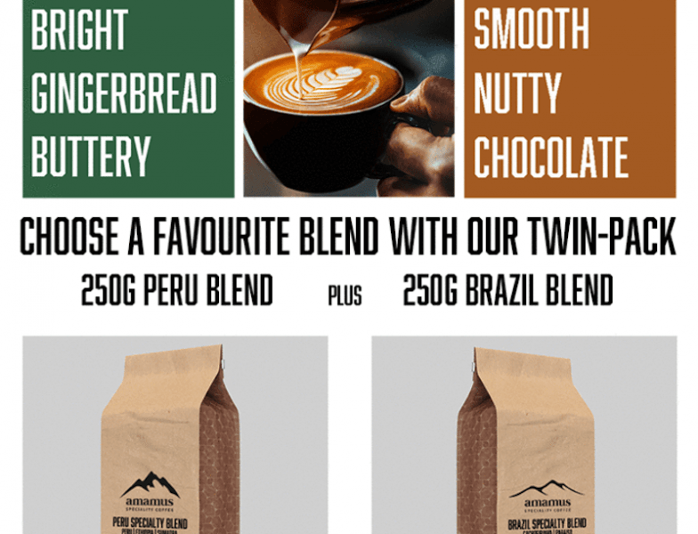 Amamus Coffee Club Blend Twin Pack