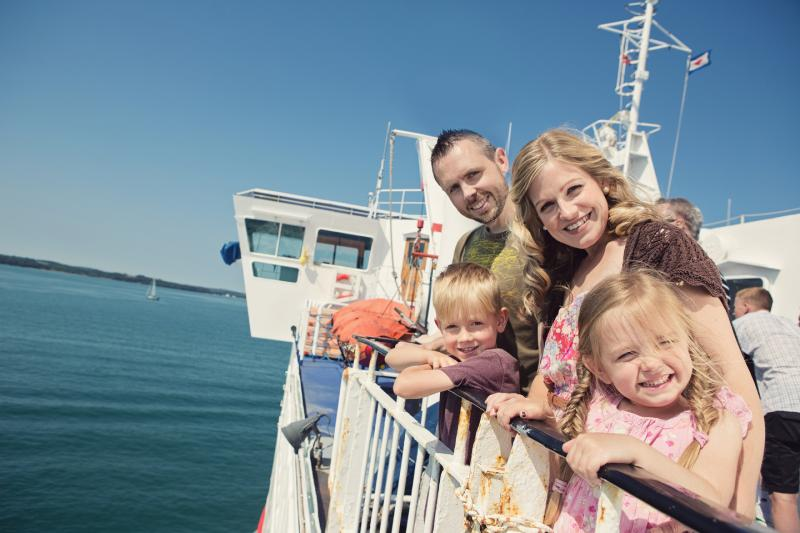 Kids Go Free during school holidays with Wightlink